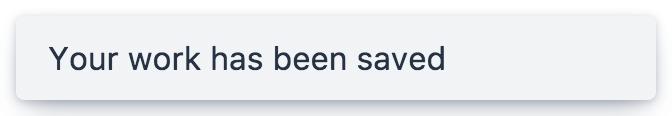 Screenshot of vaadin-notification