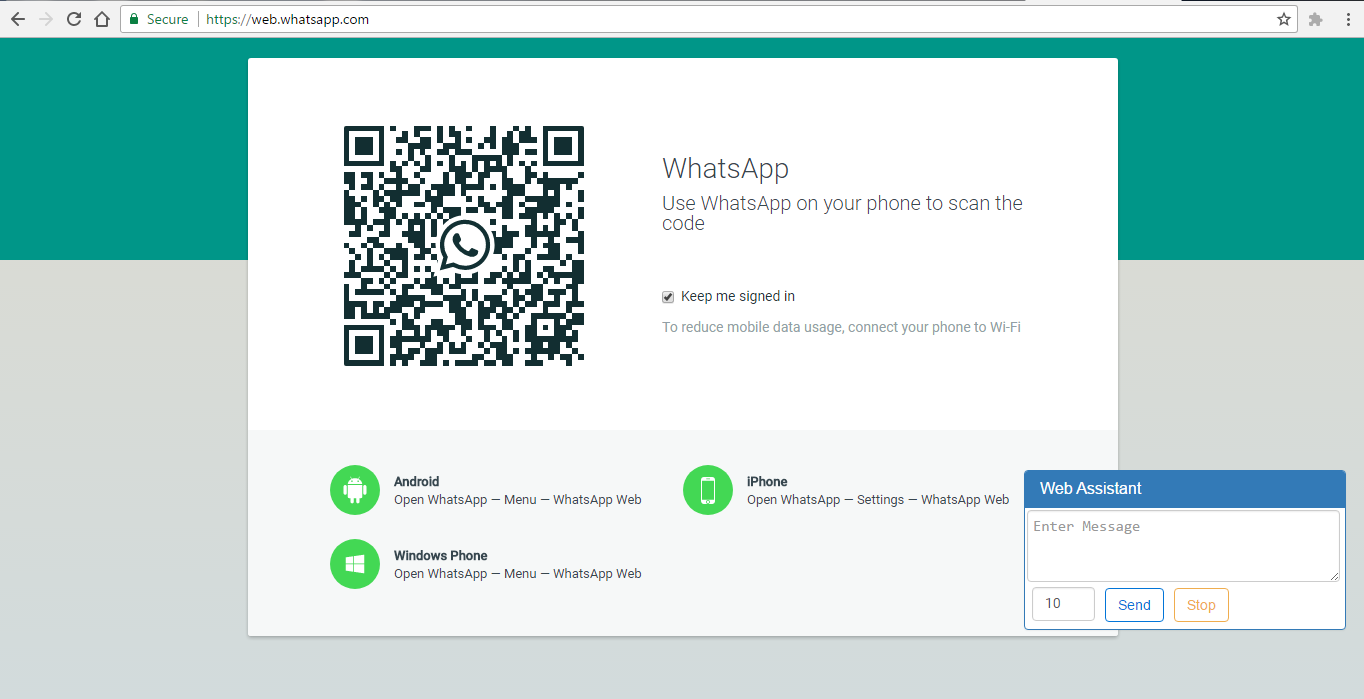 GitHub - valarpirai/WhatsappWebChromeExtension: Whatsapp Web