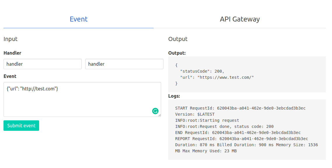 GitHub - Valian/python-lambda-local-server: Easier local