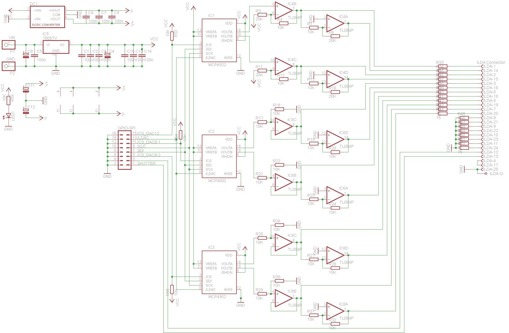 OpenILDA DAC board - Raspberry Pi Forums