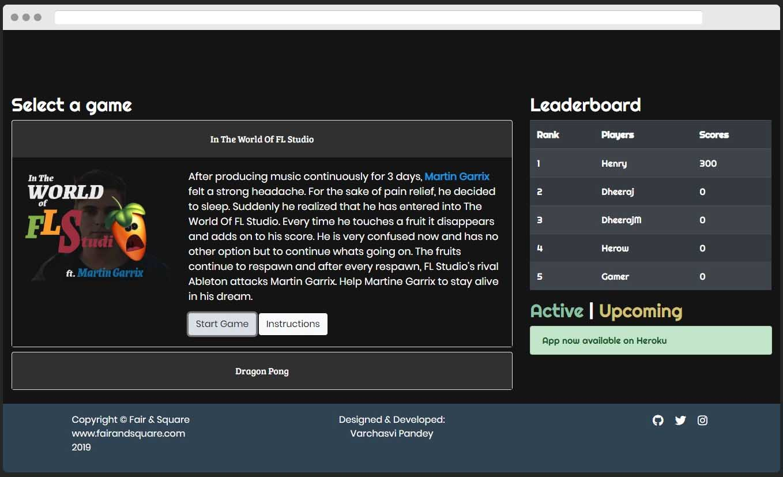 Fair & Square Desktop App