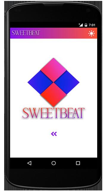 SweetBeat Mobile App