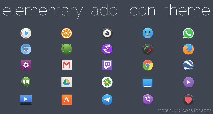 Screenshot icons