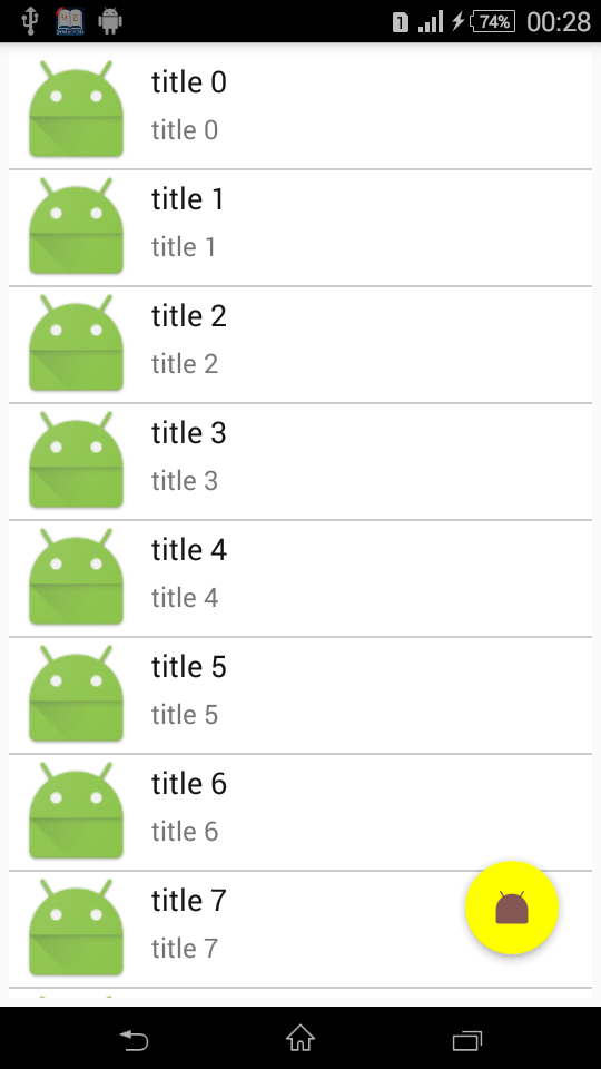 The Android Arsenal - Recycler Views - A categorized directory of