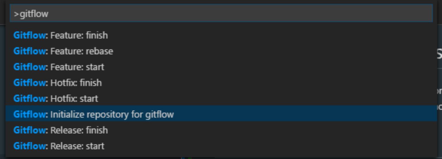 Initializing Git Flow