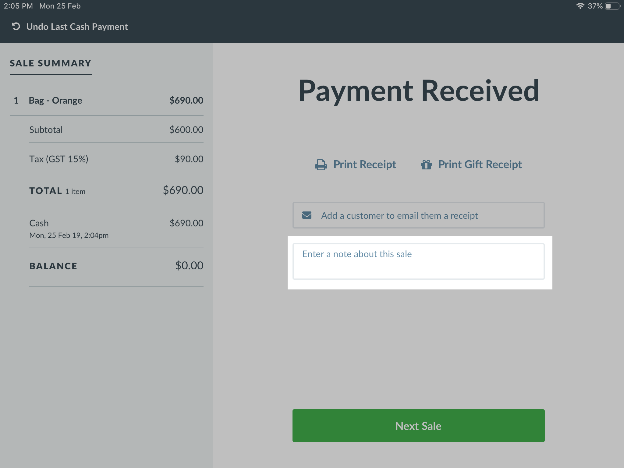 Using Vend for iPad – How can we help?