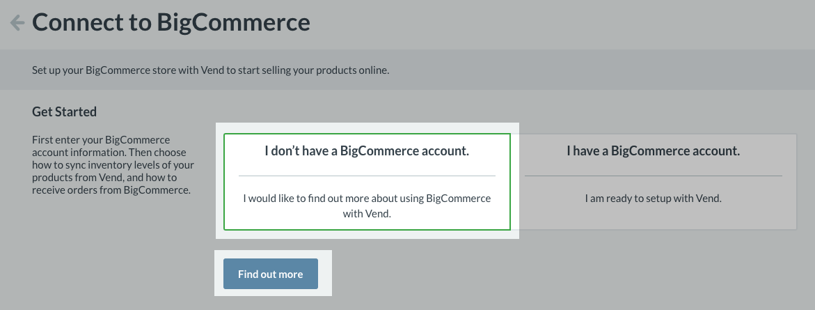 BigCommerce Integration: How does it work and how do I set