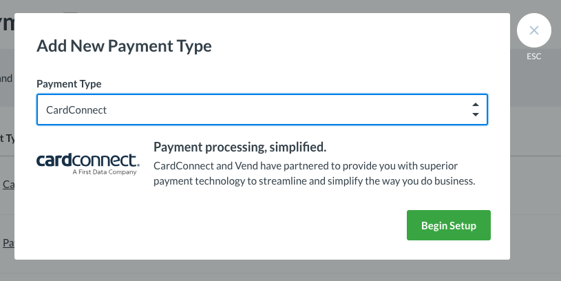 Using your Cardconnect Terminal with Vend – How can we help?
