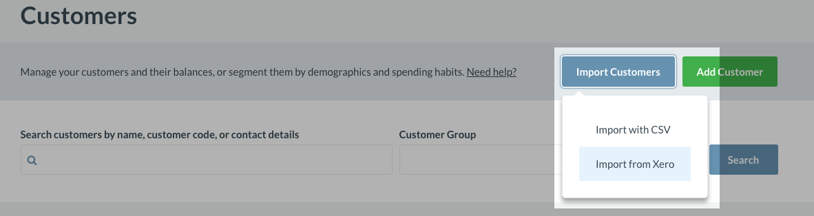 Setting up the Xero integration with Vend – How can we help?