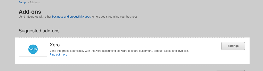 how to send sales to xero