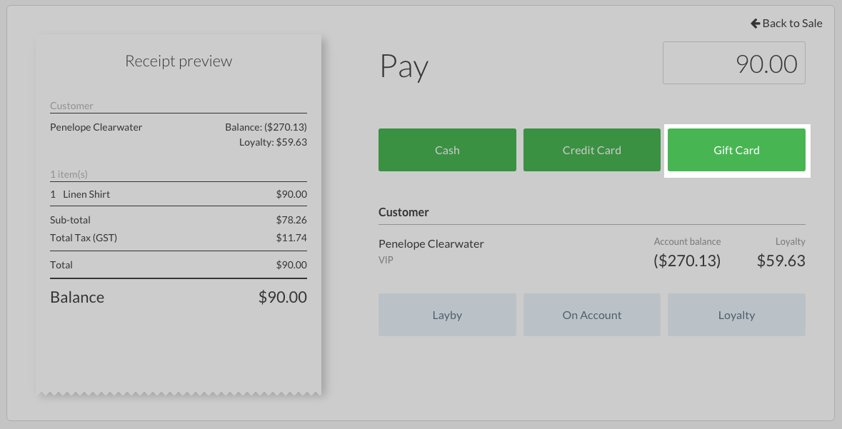 Vend Gift Cards – How can we help?