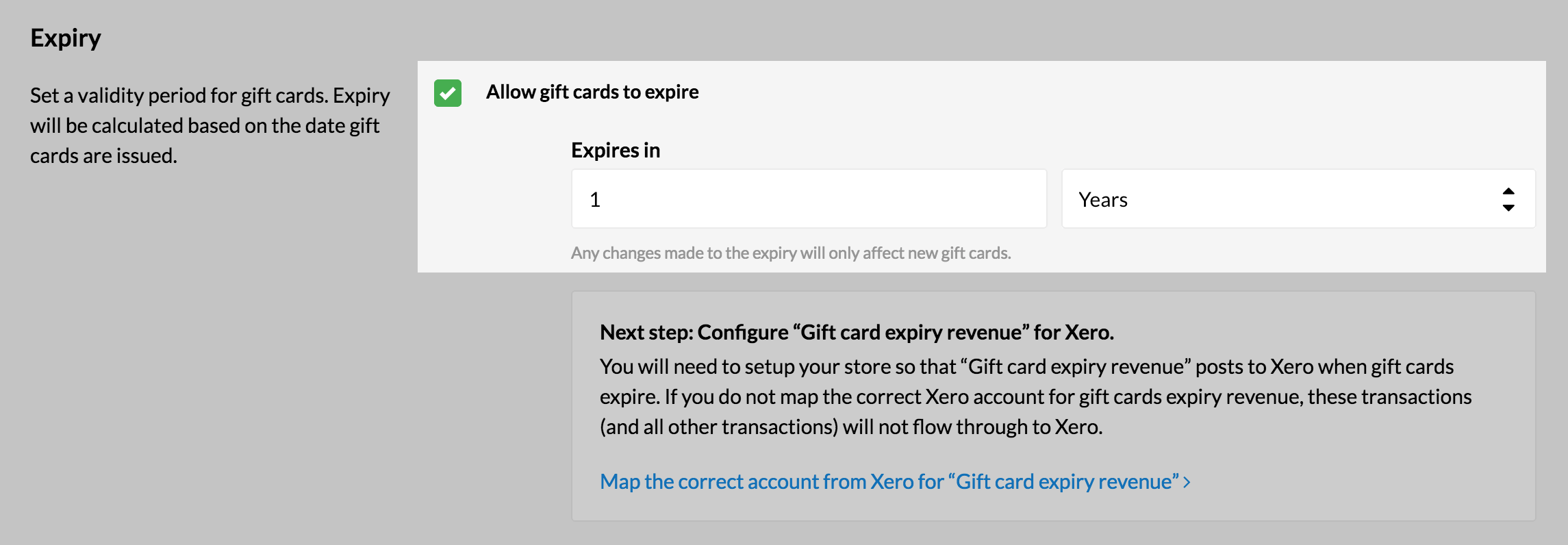 Enable Gift Card Expiry Dates – How can we help?
