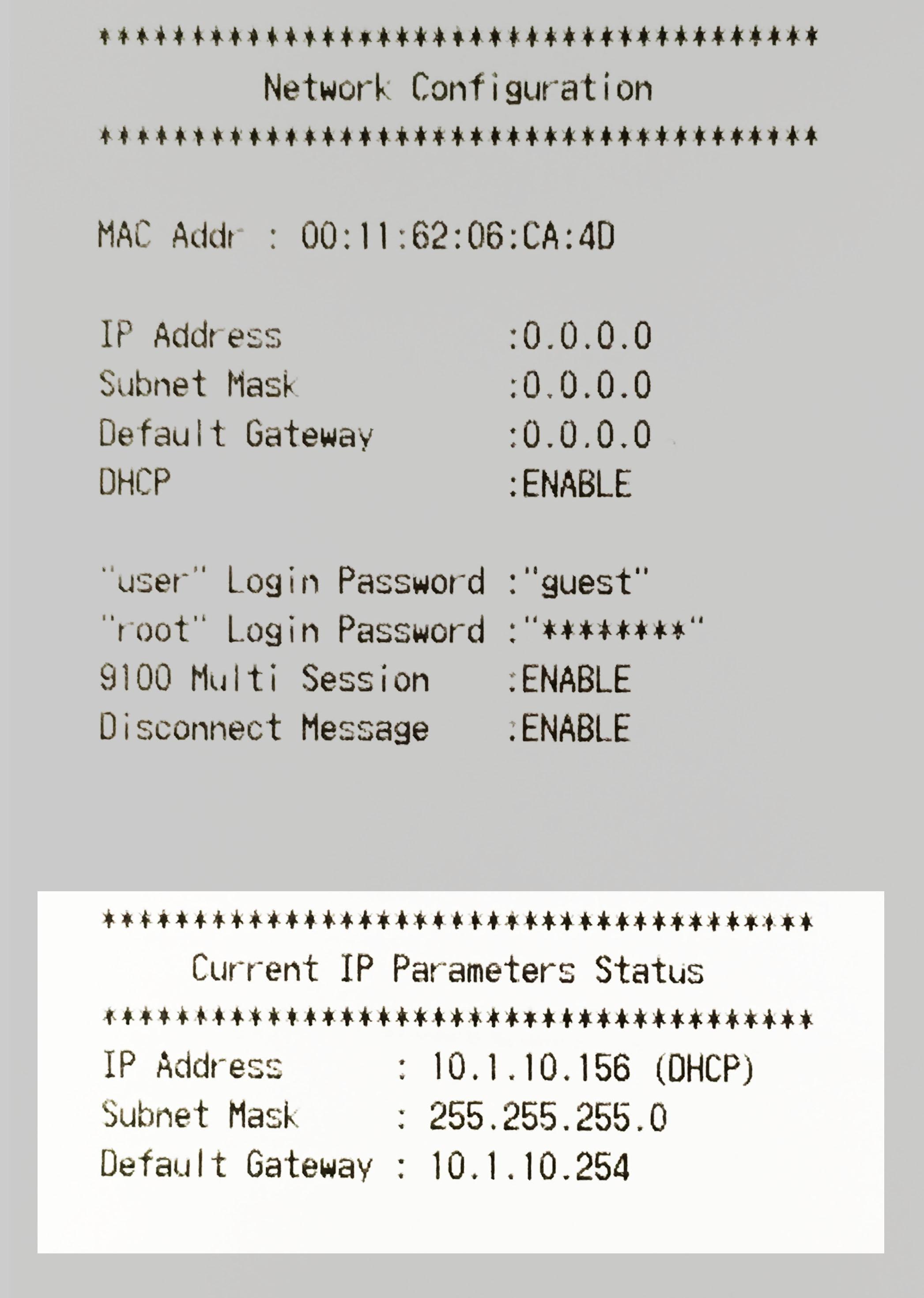 Troubleshooting your Star TSP 100 (143) LAN/Ethernet Printer