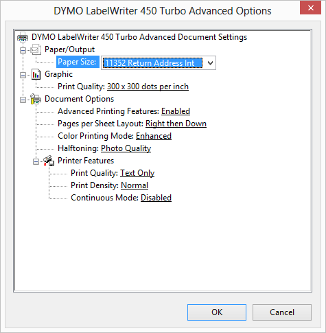 Setting up your DYMO 450 Turbo label printer for Windows PC