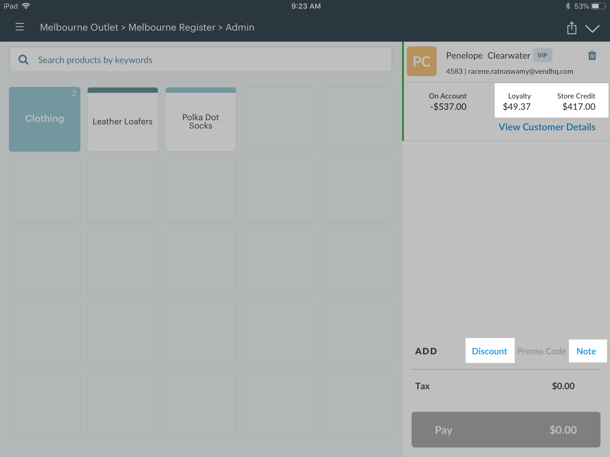 Using Vend For IPad How Can We Help - Best free invoice app for mac online layaway stores