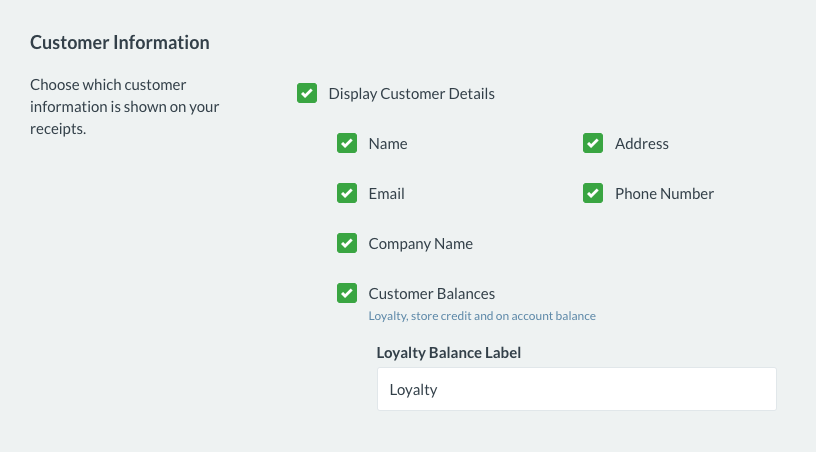 How do I set up my receipt template – How can we help?