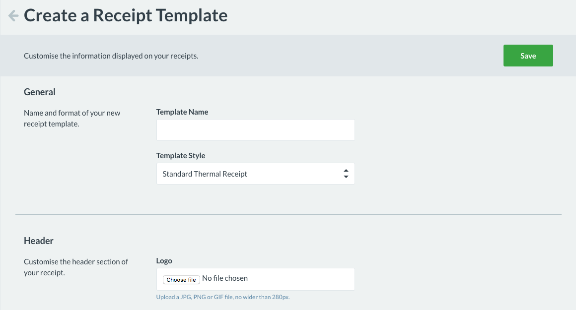 New and Improved Receipt Templates – How can we help?