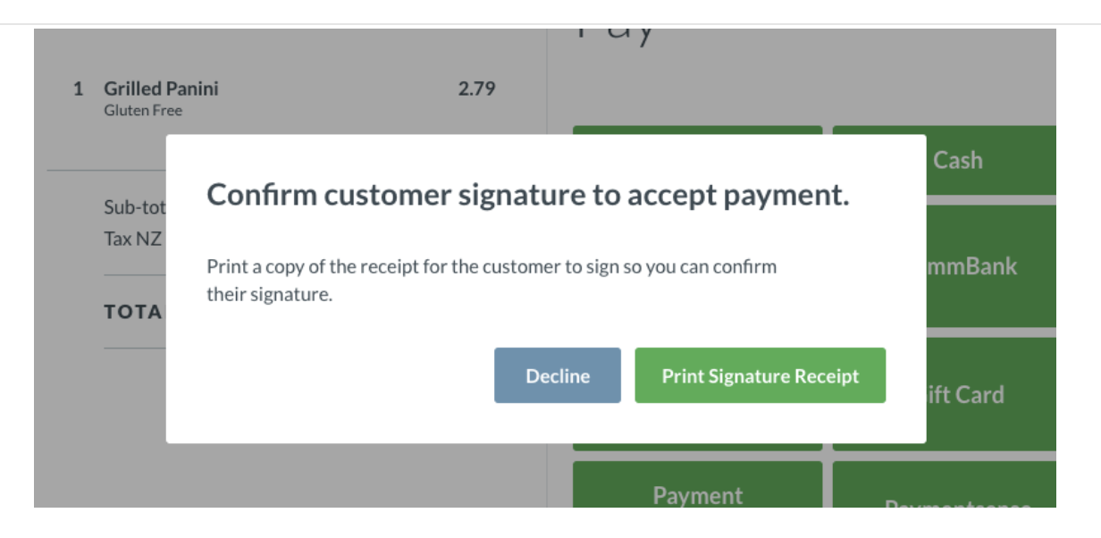 Signature Capture on your Worldpay Terminal – How can we help?