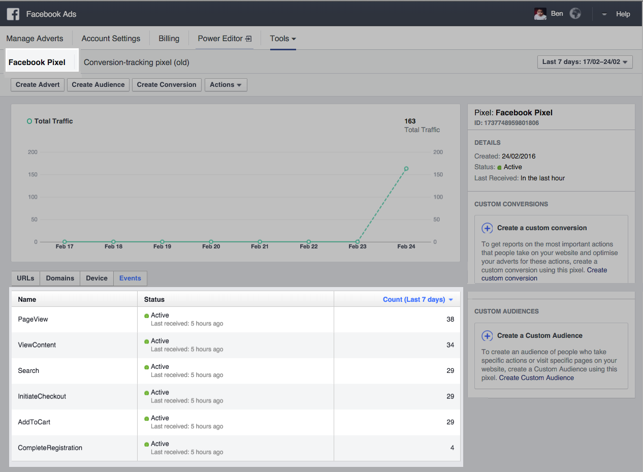 Embed a Facebook Tracking Pixel into Vend Ecommerce – How can we help?
