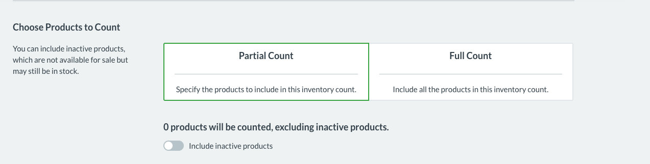 Partial Inventory Counts – How can we help?