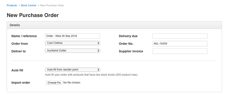 How to order and receive stock How can we help – Goods Received Note Format