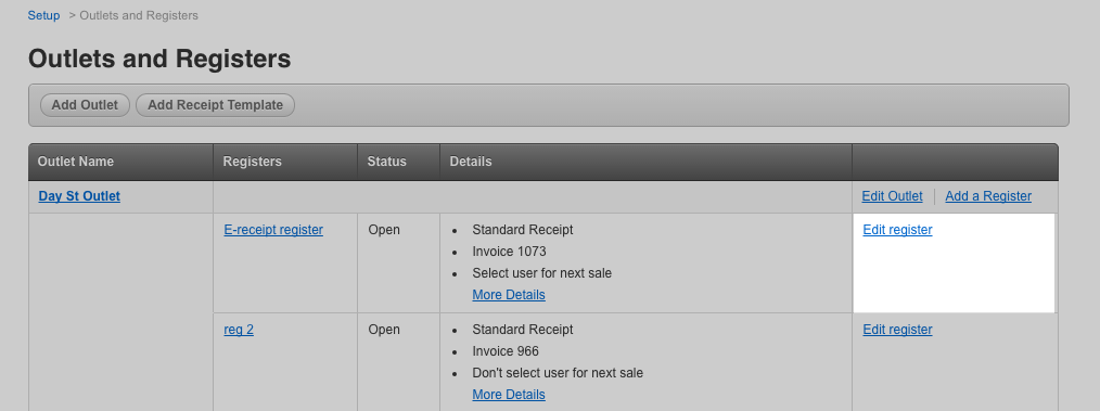 receipt templates for the vend register ipad app how can we help