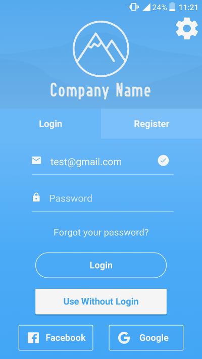 GitHub - venits/react-native-login-template: Advanced login