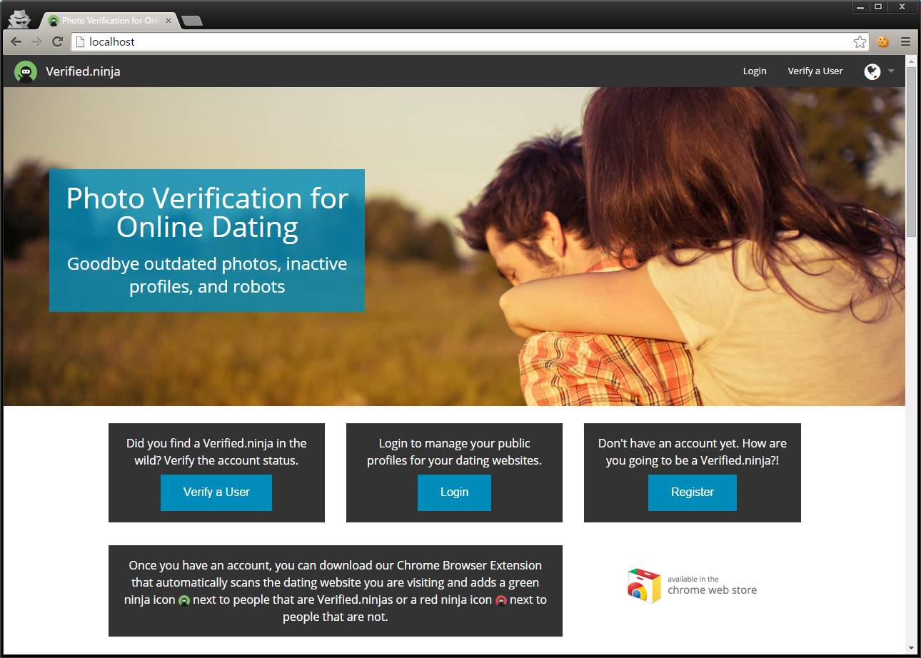 Online dating verification