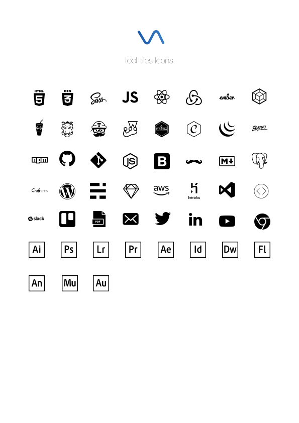 Included Icons