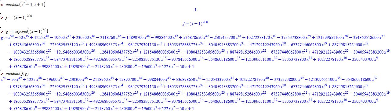 alt Modular euclides examples