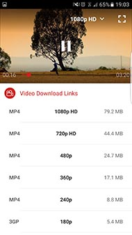 Batch Downloading,select and download multiple videos int one tap