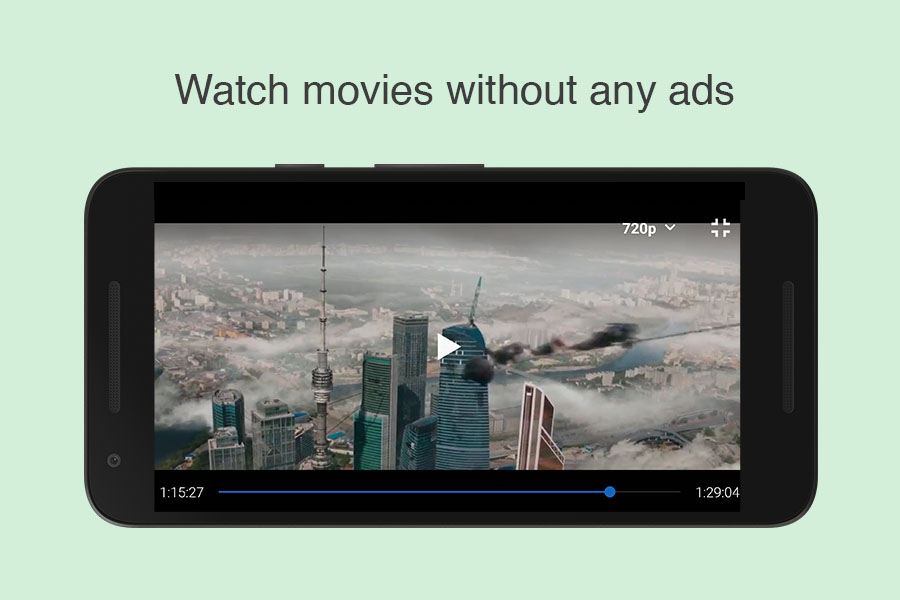 Stream 123Movies without ads using Videoder