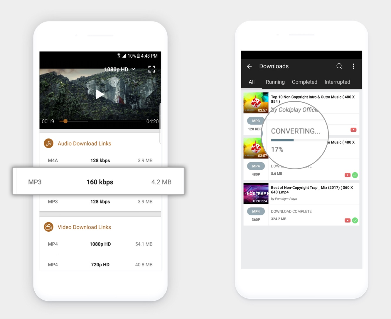 Convert youtube to mp3 - Videoder Youtube Converter