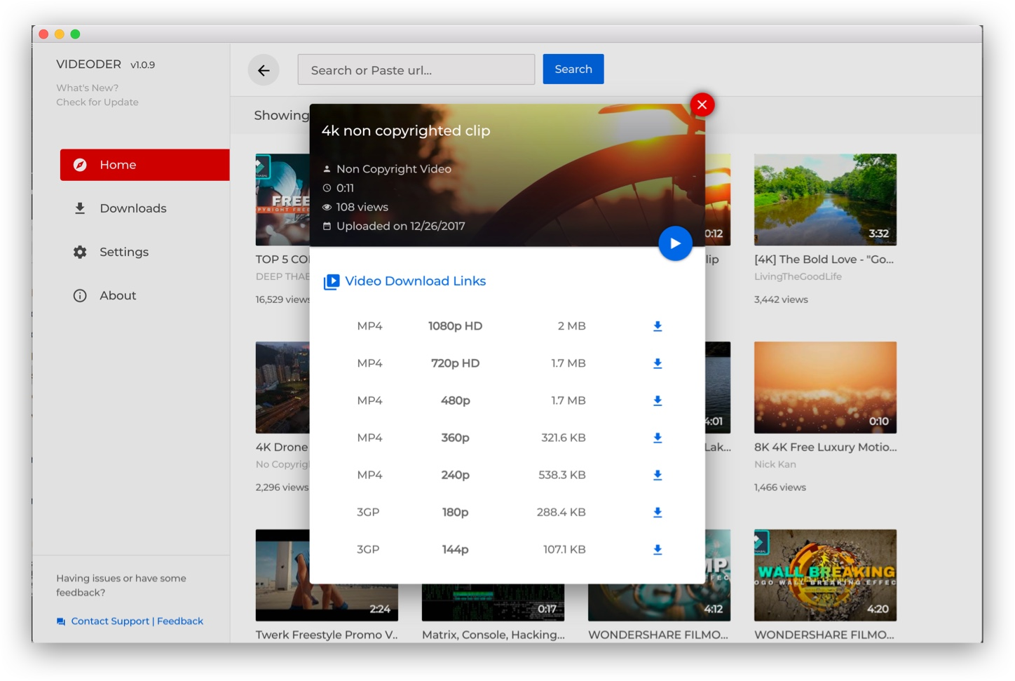 Youtube Video Downloader for PC - Videoder