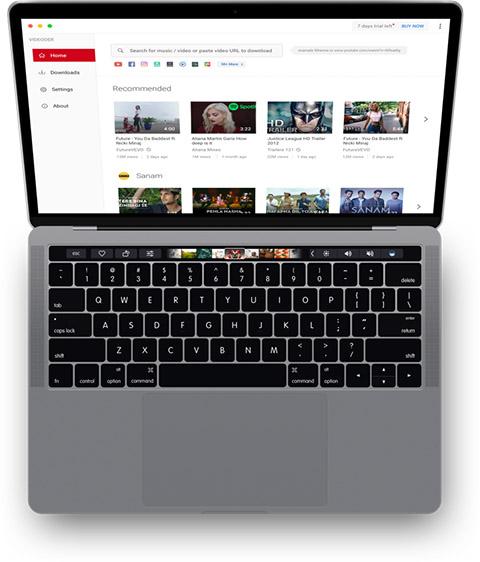 Desktop App Mockup