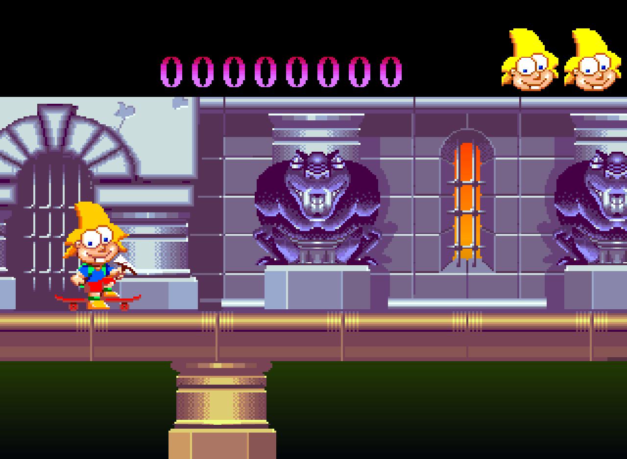 Amiga'dan ekran görüntüsü, Dinozorus oyunu
