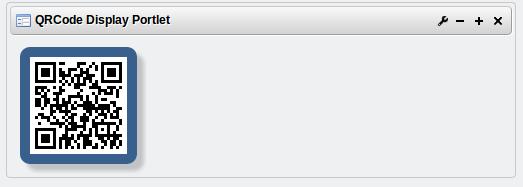 QRCode Display Portlet