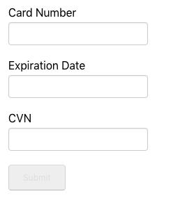 Example of default form setup