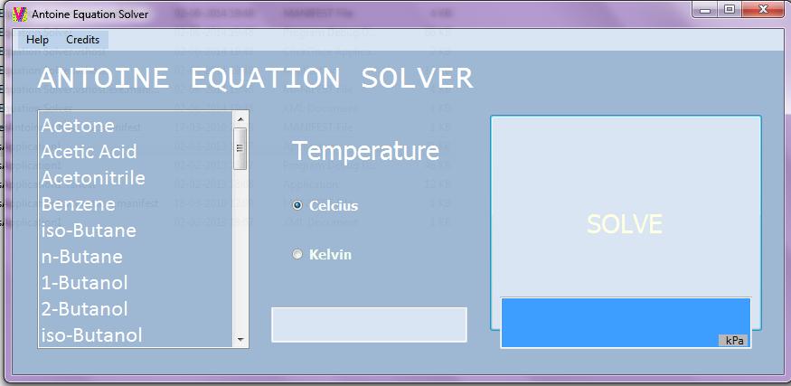 GitHub - vineetkumardoshi/Antoine-Equation-Solver: Solve Antoine\'s ...