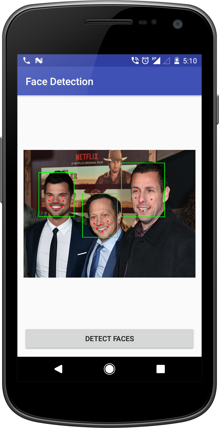 Android Face Detection