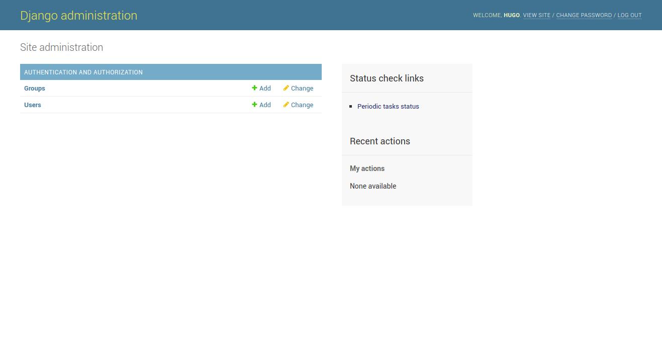 GitHub - vintasoftware/django-celerybeat-status: A library