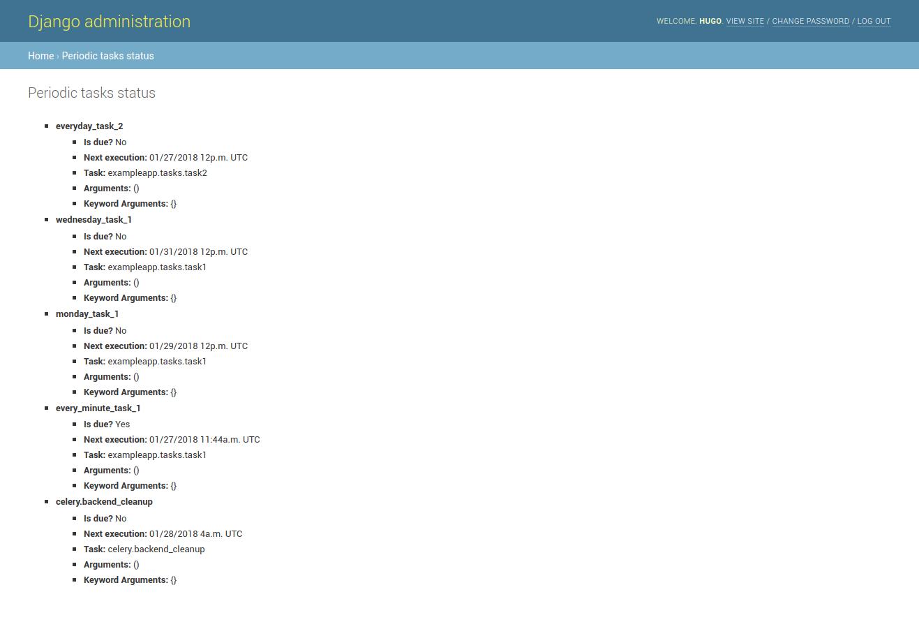 GitHub - vintasoftware/django-celerybeat-status: A library that