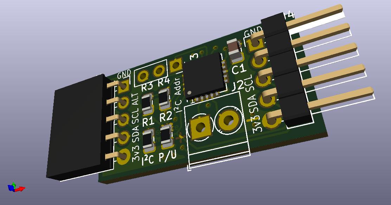 MCP9600 Board View