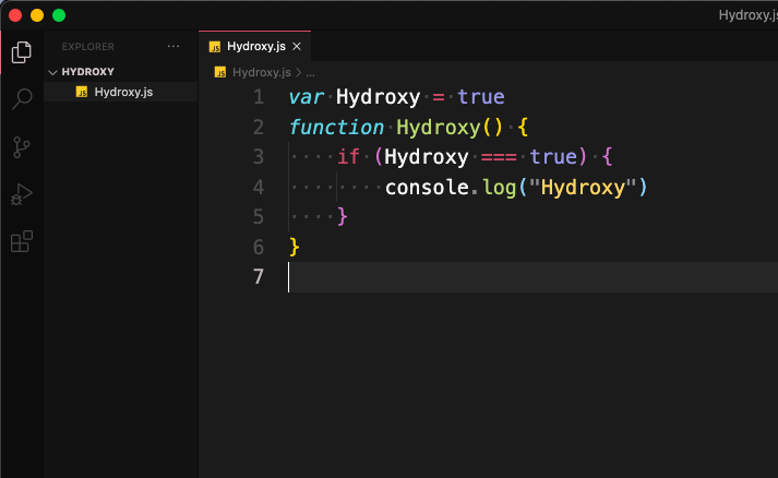 This is Hydroxy Theme