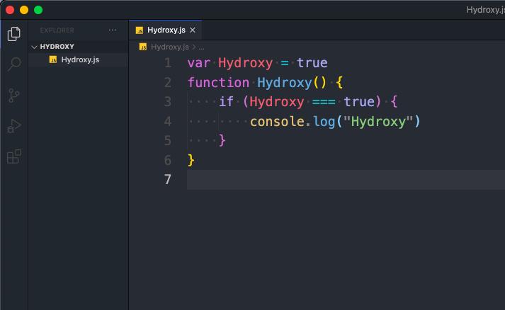 This is Hydroxy Alt Theme