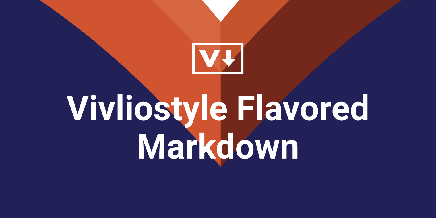 Vivliostyle Flavored Markdown