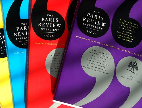 paris review interview books