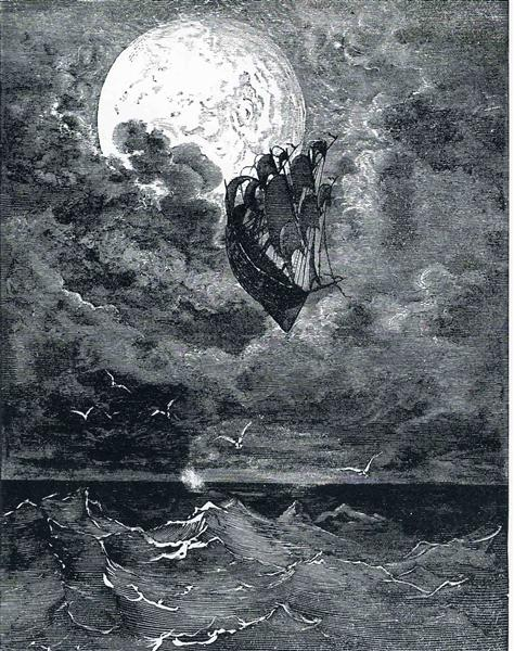 Gustave Dore A Voyage to the moon