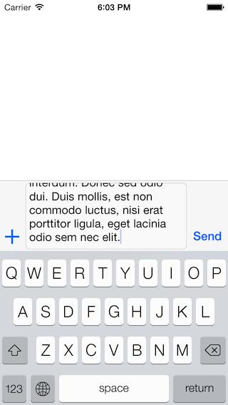 InputToolbar screenshot 2