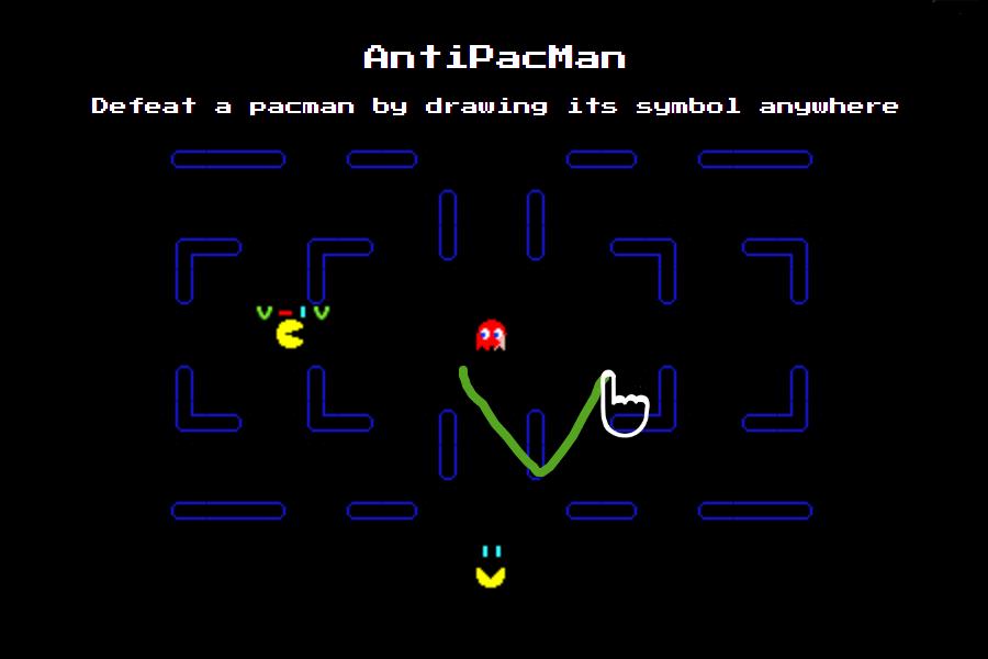 AntiPacMan screeshot